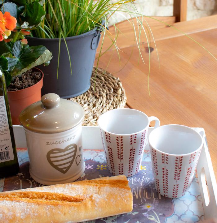 desayuno completo casa chimenea