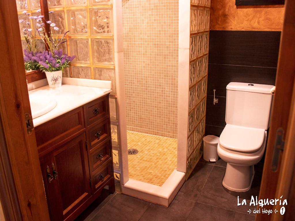 casa rural cuenca la alqueria del hoyo 1 ducha