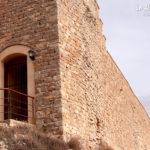Castillo Cañada del Hoyo. Puerta secundaria de la muralla