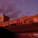 Castillo Cañada del Hoyo. Anocheciendo