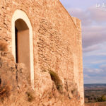Castillo Cañada del Hoyo. Una de las murallas