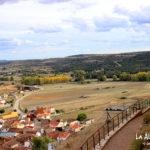 Castillo Cañada del Hoyo. Vistas desde arriba