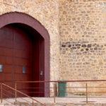 Castillo Cañada del Hoyo. Entrada actual a la casa privada