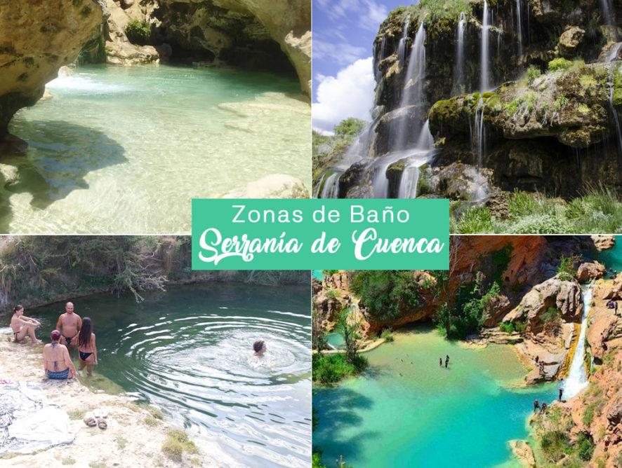 Zonas de Baño en la Serranía de Cuenca